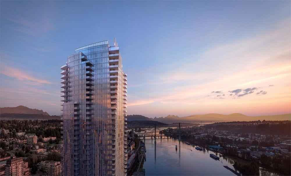 现代豪华公寓楼花 Pier West