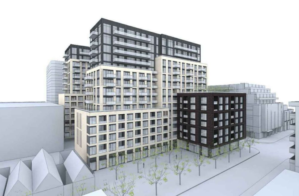 多伦多市中心543 Richmond St高级公寓
